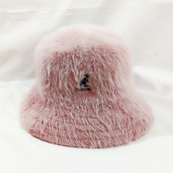 Kangol Accessories - ❌HOLD VTG Pink Kangol Angora Furgora Bucket Hat❌ abe52778572
