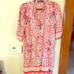 Bright boho dress
