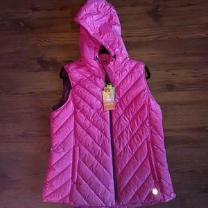 Tek Gear Ladies Vest Hoodie XL NWT