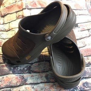 Crocs Clogs Leather Tops