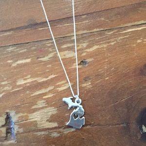 Jewelry - Michigan Necklace