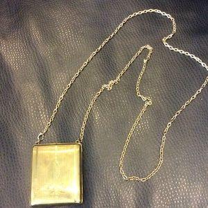 Handbags - Vintage cigarette case cross body purse