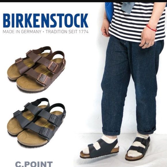 bfab8e2bf7a3 Birkenstock Other - mens brown birkenstock milano sandals