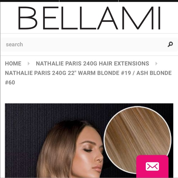Bellami Other Nathalie Paris Hair Extensions Poshmark