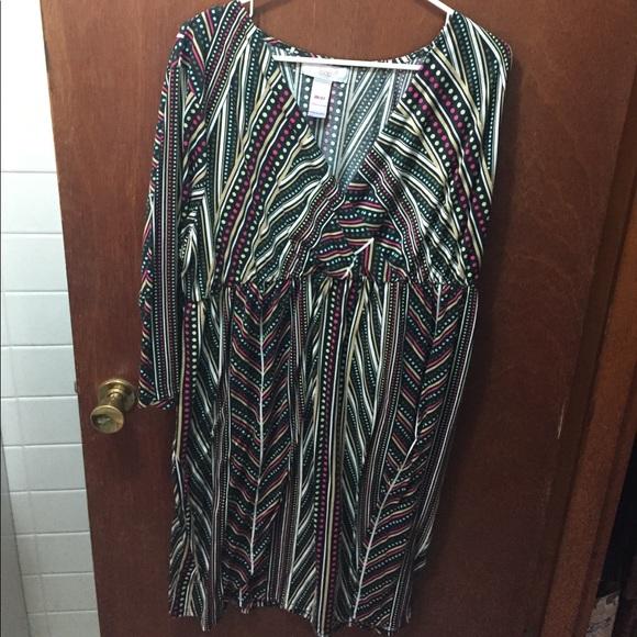Fashion Bug Dresses Plus Size Dress Nwot Poshmark