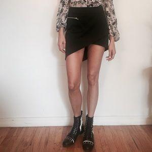 Nasty Gal Assymetrical Mini Skirt