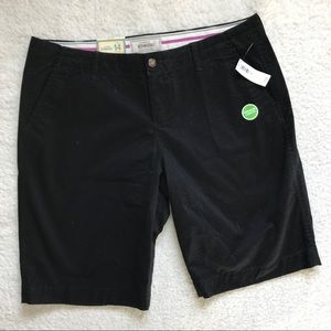 Old Navy The Perfect Bermuda Shorts in Black
