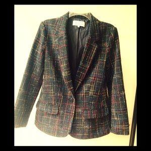 B&B Dakota tweed blazer size 8
