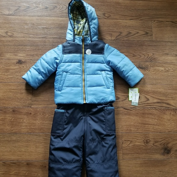 5aeec7716 Carter's Jackets & Coats | Carters Toddler Boys 2t Snowsuit Set ...