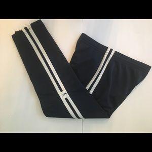 Nike Men's Athletic Pants Navy/White Size S