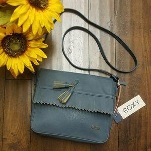 Blue Grey Roxy Cross Body Bag