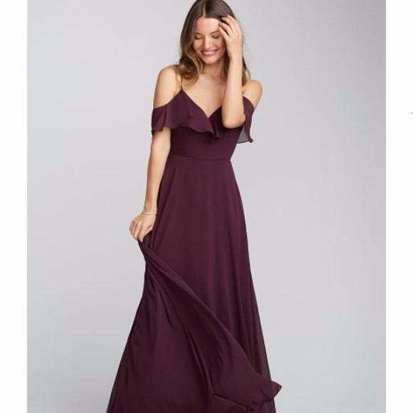 c503f2fddf1ef Jenny Yoo Dresses & Skirts - Jenny Yoo Mila Dress Hibiscus - Off the  Shoulder