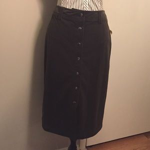 Christopher & banks Skirt size Medium