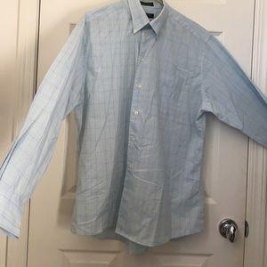 Dockers Men's Plaid Button Down Dress Shirt