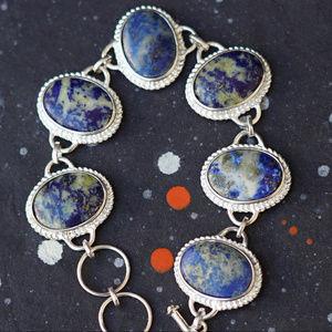 Jewelry - Lapis Sterling Silver bracelet