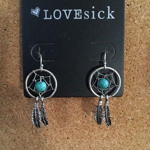 LOVEsick Dreamcatcher Earrings