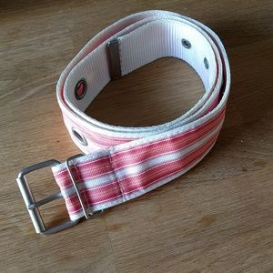 Accessories - Pink and White Belt