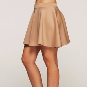 Dresses & Skirts - Beige Skater Skirt Fall Fashion