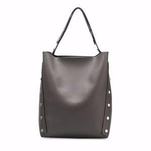 Melie Bianco Vegan Leather PATRICE GRAY tote