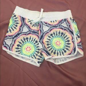 Old navy bathing suit shorts adjustable waist