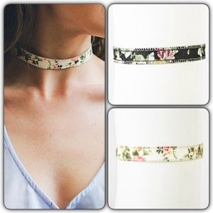 Jewelry - Chic Trendy Adjustable Floral Choker