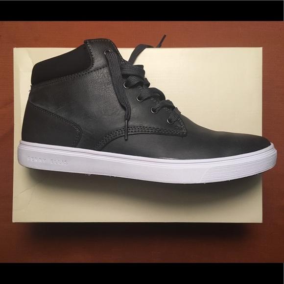 Perry Ellis Men s High Top Sneakers 5b9bfb746