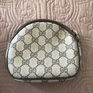 Authentic Gucci make up bag
