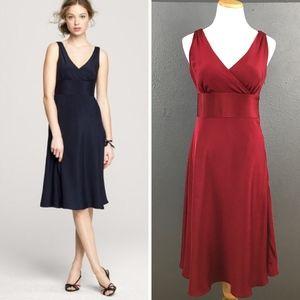J. Crew Silk Sophia Dress