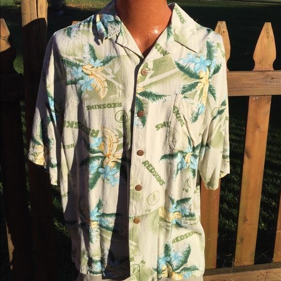 b5c90fa6 NFL Washington Redskins Mens Hawaiian Shirt XL