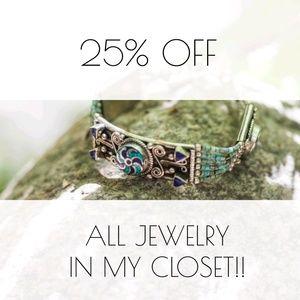 Boho jewelry blowout!! 25% off all bundles