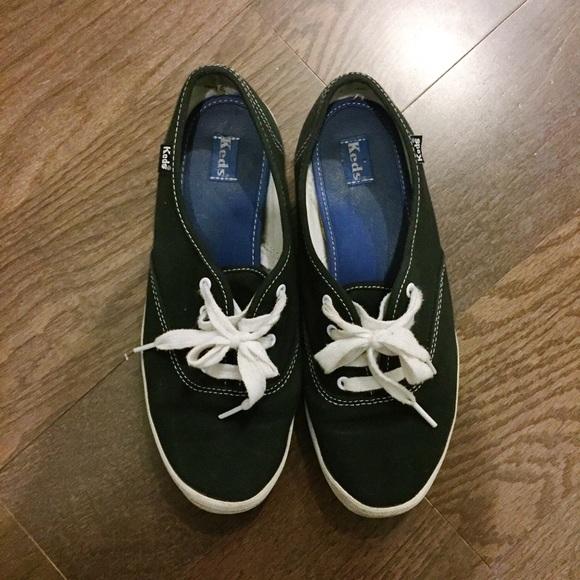 4d74bb017fc51 Keds Shoes - Black Keds Champion Sneaker
