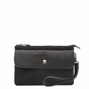 Melie BIanco Vegan Leather ANDY clutch/ crossbody
