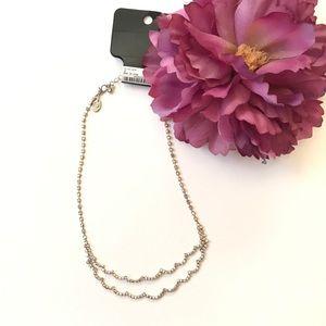SALE Elegant and simple RSVP crystal necklace