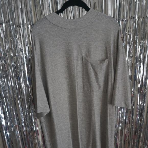 3e55e18395 Silver glitter jersey Zara T-shirt dress