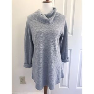 Chicos cowlneck sweater