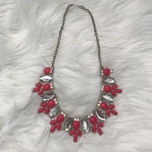 Jewelry - J Crew Inspired Pink Statement Necklace