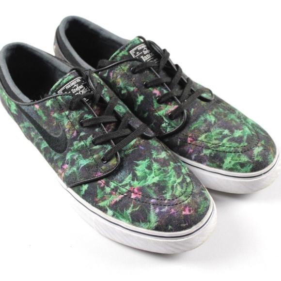 online retailer a6e0d dcdf5 Nike Zoom Janoski Canvas Premium Palm Leaves Shoes.  M 5a06121cf739bc684f090ee0