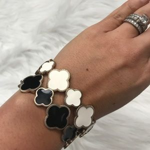 Jewelry - Pair of Quatrefoil Bracelets