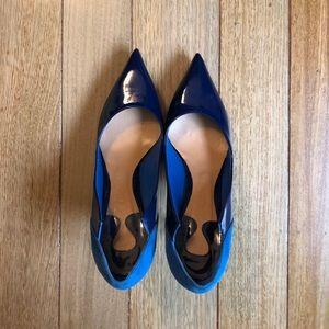 Chloé Blue Escarpin like new