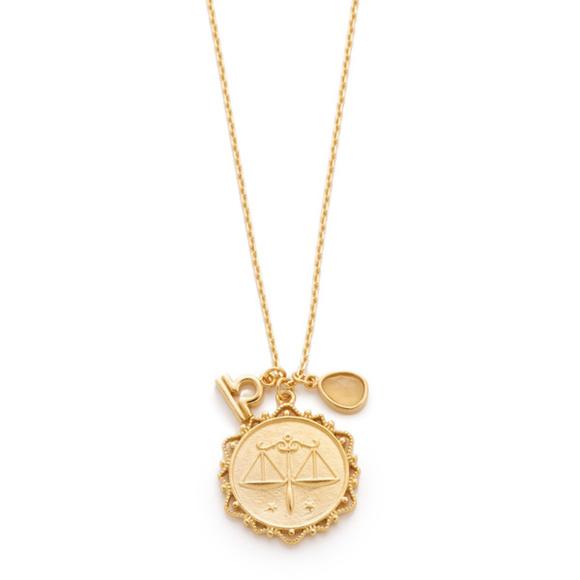 Tai Jewelry Gemini Pendant Gold 4IOQZKL
