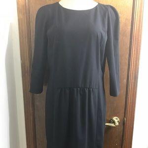 Hugo Boss Women's Black Dillane Dress Size 12