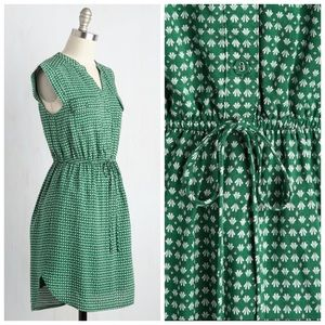 34500b4e1aa Sunny Girl Dresses - {MODCLOTH/SUNNY GIRL} A Way With Woods Dress Pine