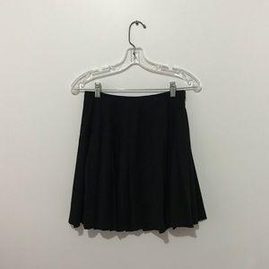 Zara  Pleated Black Skirt