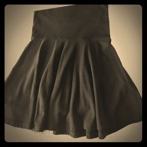 American apparel fold top skirt