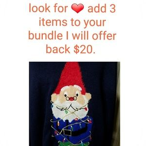 Other - BUNDLE SALE 3 ITEMS FOR  $20