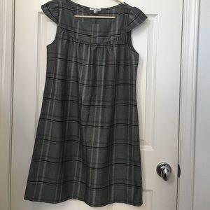 Velvet Torch Plaid Shift Dress