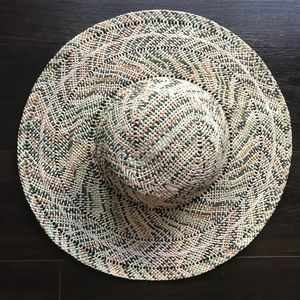 Roxy big woven straw beach hat - M/L