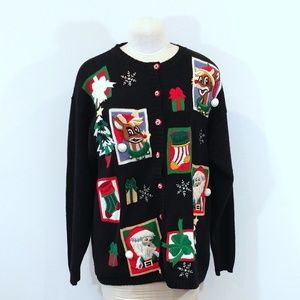 SALE!!! Plus Size Ugly Christmas Sweater Cardigan