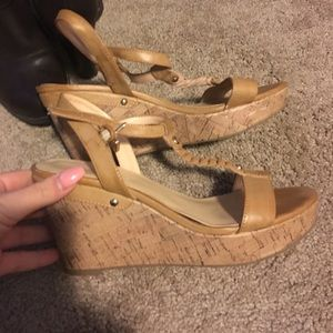 8.5 sandal wedges by Liz Claiborne