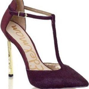 c9e63493f81da5 Sam Edelman Shoes - Sam Edelman Smithfield burgundy heel